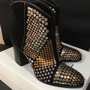 Casadei Embeished western boots